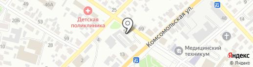 Доверие на карте Минусинска