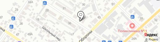Кабинет невролога на карте Минусинска