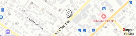 Рентгенологический кабинет на карте Минусинска