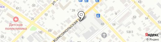 Минусинский центр адаптации лиц, освобожденных из мест лишения свободы на карте Минусинска
