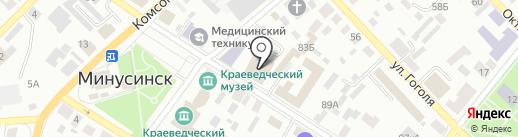 Ферма на карте Минусинска