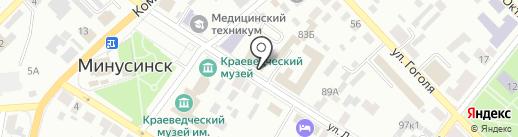Аптека.ру на карте Минусинска
