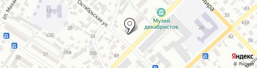 Нотариусы Мартюшева Н.Г. и Сидорова Н.М. на карте Минусинска