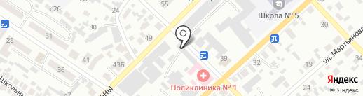 Минусинский Комбинат Хлебопродуктов на карте Минусинска