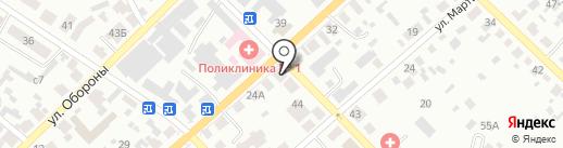 Социальный на карте Минусинска