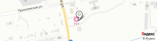 777 на карте Минусинска