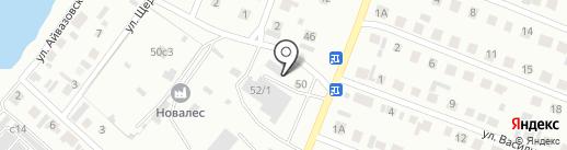 Магазин стройматериалов на карте Минусинска