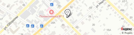 Минусинская межрайонная прокуратура Красноярского края на карте Минусинска