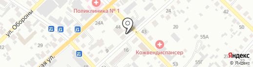Общество глухих на карте Минусинска