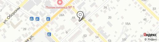 Местная организация общества глухих на карте Минусинска