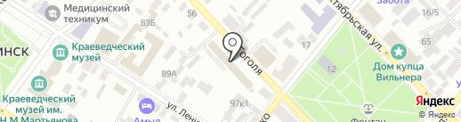 Стандарт-Эксперт на карте Минусинска