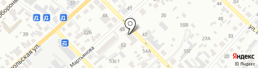 Валентина на карте Минусинска