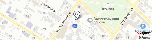 Центральная детская библиотека им. А. Гайдара на карте Минусинска