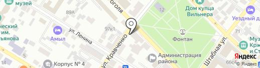 Торгтехника на карте Минусинска