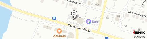 Клаксон на карте Минусинска