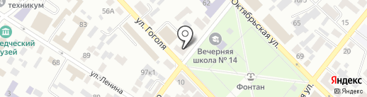 Мебель Лидер на карте Минусинска