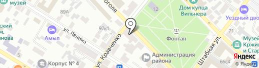 Стейк-Хаус на карте Минусинска