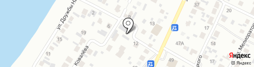 Склад-магазин на карте Минусинска