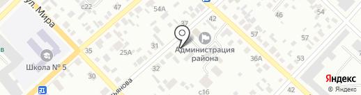 Местная организация Всероссийского общества слепых на карте Минусинска