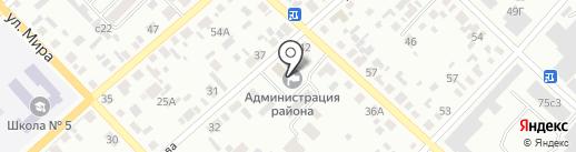 Администрация Минусинского района на карте Минусинска