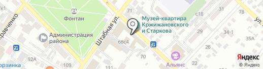Наш дивный сад на карте Минусинска