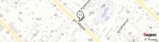 Автомойка на карте Минусинска