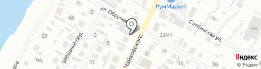АКВА-ТЕРМ на карте Минусинска