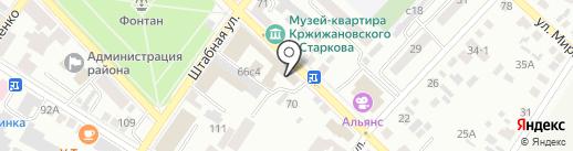 Банкомат, Совкомбанк на карте Минусинска