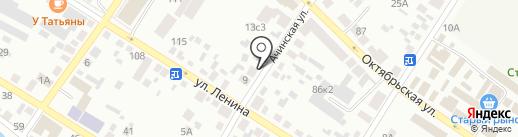 Ирис на карте Минусинска