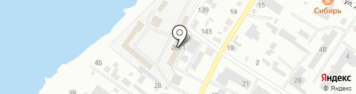 Магазин газовых плит на карте Минусинска