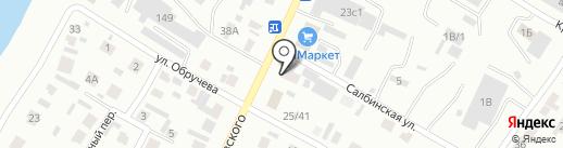 ПАРТНЕР-АВТО на карте Минусинска