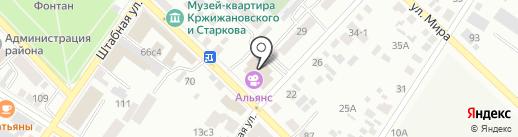 Альянс на карте Минусинска