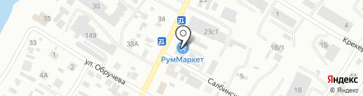 Муравейник на карте Минусинска