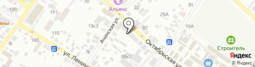 ЕВРО ДОМ на карте Минусинска