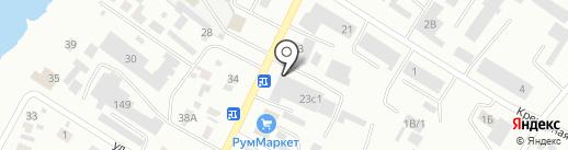 МК-строй на карте Минусинска