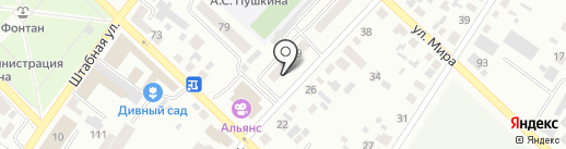 Хороший на карте Минусинска