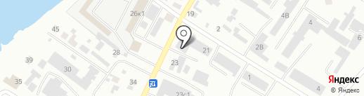 Город мастеров на карте Минусинска