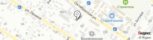 Автоточка на карте Минусинска