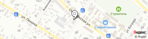Родник на карте Минусинска