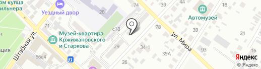 Управление Пенсионного фонда РФ в г. Минусинске и Минусинском районе на карте Минусинска