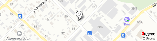 Библиотека №4 на карте Минусинска