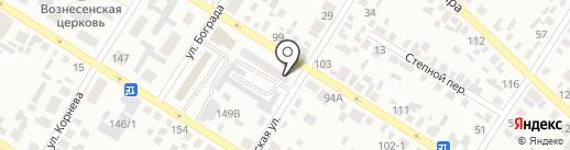 Почтовое отделение №2 на карте Минусинска