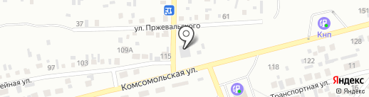 ХАРАЛЕ на карте Минусинска