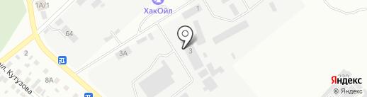 Горводоканал, МУП на карте Минусинска