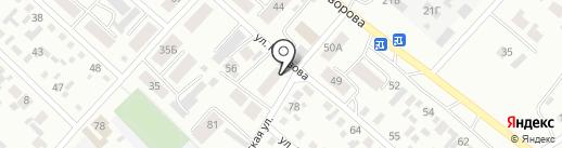 Почтовое отделение №7 на карте Минусинска