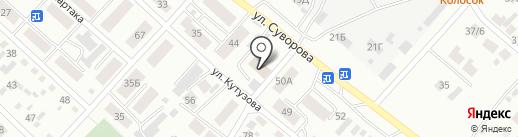 АварКом на карте Минусинска