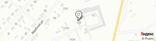 Минусинское городское хозяйство на карте Минусинска
