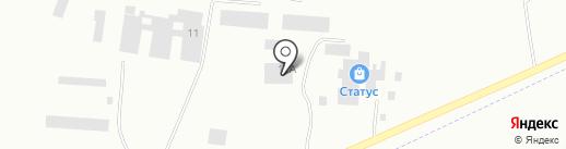 Таймер-Воротаград на карте Минусинска