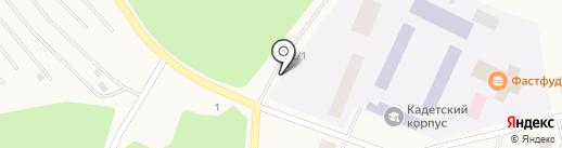 Шиномонтажная мастерская на ул. Павлова на карте Кедрового