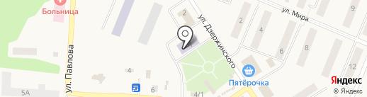 Детская музыкальная школа на карте Кедрового